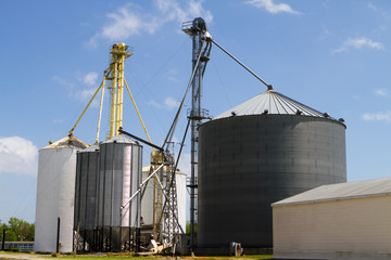Grain Storage Elevators