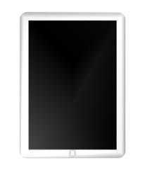 white Tablet-Computer - sample