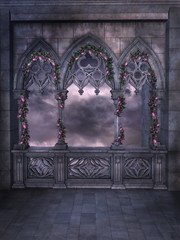 Gothic Romantic Background