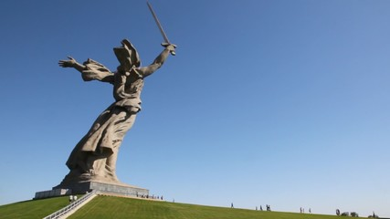 monument of Native land-mother in Volgograd