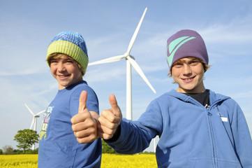 Ja zur Windenergie