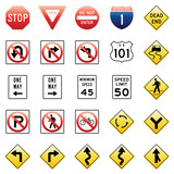 Vector Traffic Signs