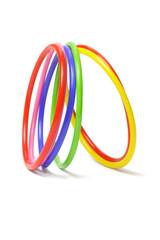 multicolor plastic bangles
