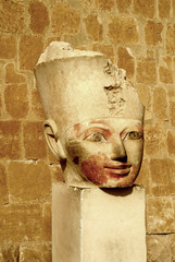 Mortuary Temple of the female Pharaoh Hatshepsut Luxor Egypt