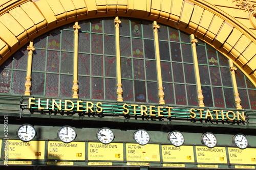 Flinders Street Station. Australia, Melbourne. - 32290261