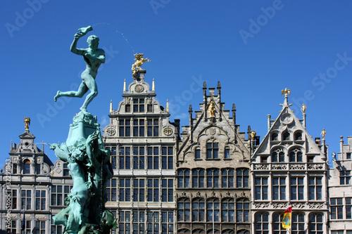 Keuken foto achterwand Antwerpen Anvers - Grand place