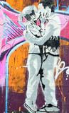Fototapete Kunst - Liebe - Graffiti