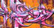 Fototapete Kunst - Textur - Graffiti