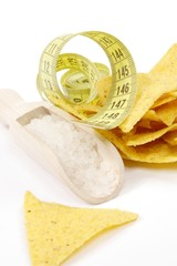 chips + salt = overweight