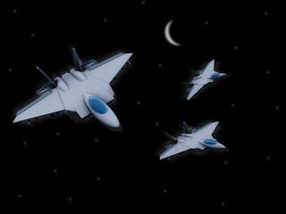 3d military sky escort