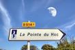 La Pointe Du Hoc -Panneau de commune