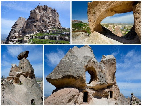 Leinwanddruck Bild Une visite de la Cappadocia