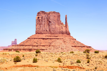 Left Mitten, Monument Valley, Arizona-Utah, USA