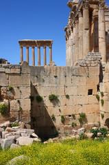 Spring at Baalbeck Roman Ruins, Lebanon
