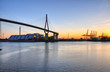 Köhlbrandbrücke in Hamburg