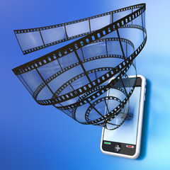 Mobile device video