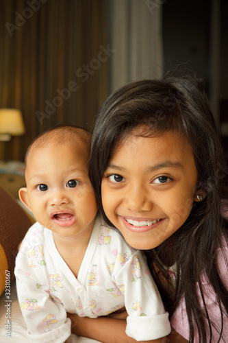 Asian children portrait