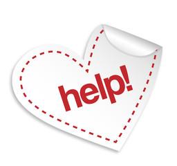 helpf Heart Vector