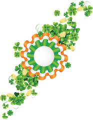 St.Patrick's Day badge