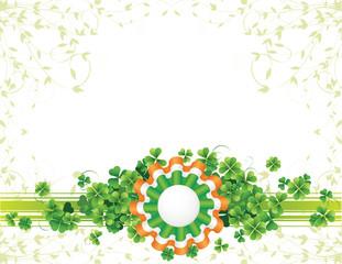 St.Patrick's Day badge