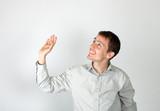 Friendliness gesture poster