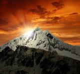 Fototapeta kanion - wspinaczka - Wysokie Góry