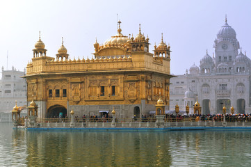 Golden temple Amritsar - the holiest of Sikh Temples