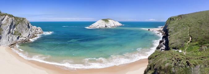 Playa de Covachos (Santander)