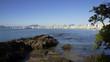 Strand-Stadt Balneario Camboriu in Südbrasilien