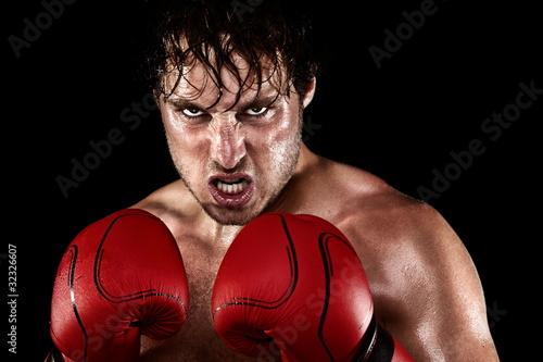 Fotobehang Vechtsporten Boxer Boxing