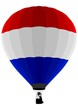 Air Balloon, Netherlands Flag
