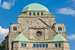 canvas print picture - Old synagogue of Essen