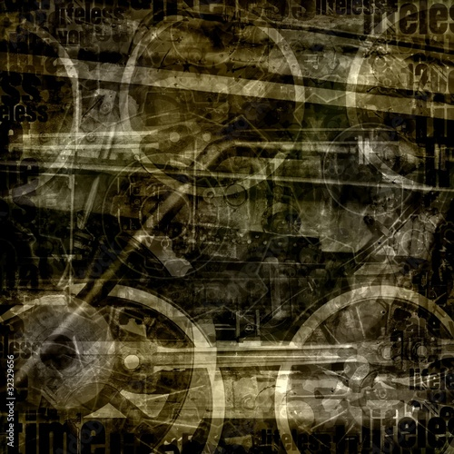 vintage industrial abstract background
