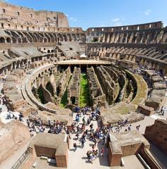 Colosseo, veduta interna, Roma