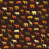 Safari pattern background