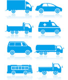 Fototapety Transport_buttons icons