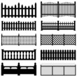 Fence Picket Wooden Wired Brick Garden Park Yard - 32339831