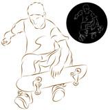 Skateboard Stunt Rider poster