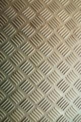 Silver metal plate floor texture