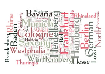 Germany Word Collage