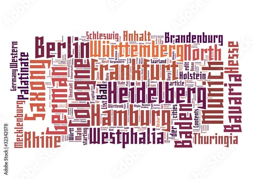 Germany Word Cloud
