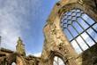 Holyrood Palace Landmark - Edinburgh / Scotland