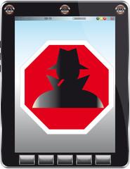my pad stop spionage