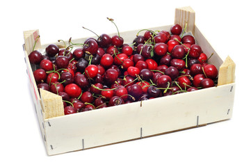 cherries crate