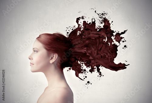 Fototapeten,schönheit,gestalten,hairstyle,frau
