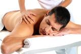 Fototapete Gesundheit - Therapie - Mann