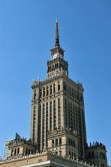 Kultur- und Wissenschaftspalast in Warschau (Polen)