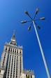 Kultur- und Wissenschafspalast in Warschau