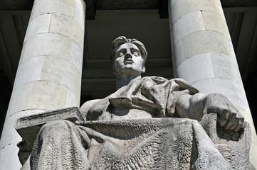 Statue Kultur- und Wissenschaftspalast, Warschau
