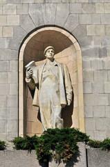 Statue Kulturpalast Warschau